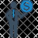 Finance Investment Businessman Icon