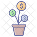 Investment Budget Growth Icon