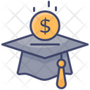 Investment Education Hat Icon