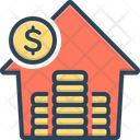 Investment Parsimony Currency Icon