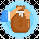 Savings Dollar Sack Asset Icon