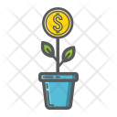 Investment Growth Plant Icon
