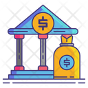 Investment Bank Icon
