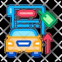 Investment Car Refinance Icon