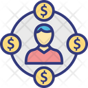 Investment cycle Icon