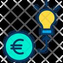 Investment Euro Icon