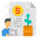 Benefit Growth Invesment Icon