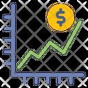 Statistic Graph Money Icon