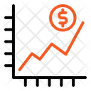 Investment Graph Statistic Graph Icon