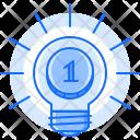Coin Idea Investment Icon