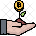 Start Up Plant Hand Icon