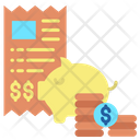 Investment Invoice Icon