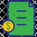 Business Investation Documents Storage Icon