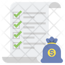 Investment Plan Bag Budget Icon