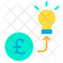 Investment Finance Creative Idea Icon