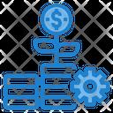 Money Process Investment Process Cash Icon
