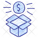 Box Products Growth Icon