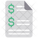 Investment Report Investment Document Icon
