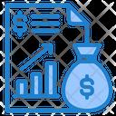File Report Money Bag Icon