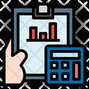 Investment Report Economics Investment Icon