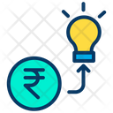Investment Rupees Icon