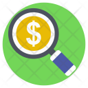 Investment Search Icon