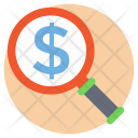 Investment Search Looking Icon