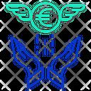 Minvestment Security Investment Security Secure Euro Icon