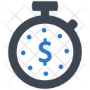 Budget Time Clock Icon