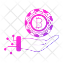 Investments Cryptocurrency Digital Icon