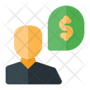Investor Business Chat Business Talk Icon