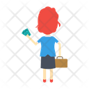 Female Girl Business Icon