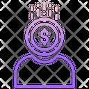 Investor Money User Financier Icon