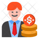 Manager Business Businessman Icon