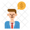 Financial Consultant Business Icon
