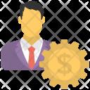 Financial Development Investor Icon