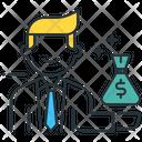 Investor Business Money Icon
