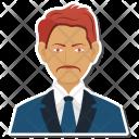 Business Male Investor Icon