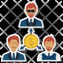 Investor Dollar Office Icon