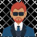 Investor Man Business Icon