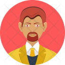 Business Investor Man Icon