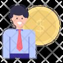 Backer Investor Financier Icon