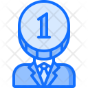 Head Financier Accountant Icon