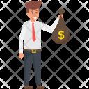 Investor Trader Financier Icon