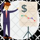 Investor Passive Financial Icon