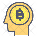 Bitcoin Brain Bitcoin Brain Icon