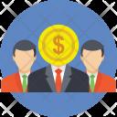 Investors Businessman Financial Icon