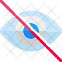 Eye Invisible Retina Icon