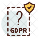 Invisible Gdpr File Verified Gdpr File Icon