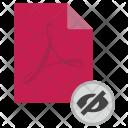 Invisible file Icon